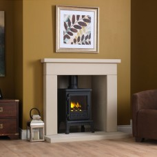"Gallery Durrington 48"" Stone Inglenook Fireplace"