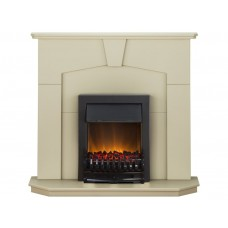 Fireplaces 4 Life Abbey 48'' Blenheim Electric Fireplace Suite