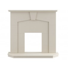 Fireplaces 4 Life Abbey 48'' Wooden Fireplace
