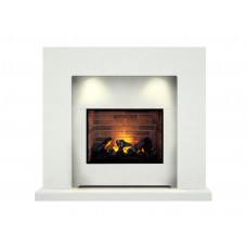 Fireplaces 4 Life Cuba 48''  Electric Fireplace Suite