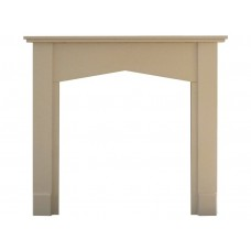"Fireplaces 4 Life Tudor 48"" Wood Fire Surround"