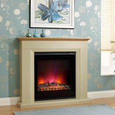 "Elgin & Hall Arletta 48"" Electric Fireplace Suite"
