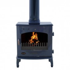 Carron 7.3kW Enamel Cast Iron Woodburning/Multifuel Stove