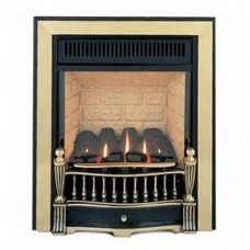Burley Environ Traditional Black/Brass Gas Fire