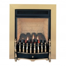 Burley Environ Traditional Brass Gas Fire