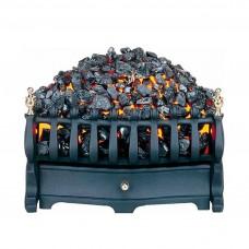 Burley Halstead Black Electric Fire Basket