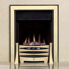 Burley Perception Brass Gas Fire