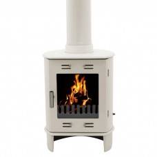 Carron Dante 5KW Enamel Cast Iron Multifuel/Wood Burning Stove