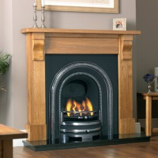 Cast Tec Clifton Arch Cast Iron Fireplace Insert