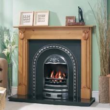 Cast Tec Tulip Arch Fireplace Insert