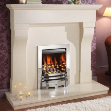 Crystal Fires Gem Open Fronted Inset Gas Fire