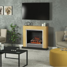 "Be Modern Devonshire 34"" Fireplace Suite"