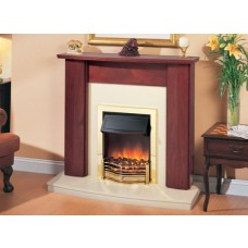 Dimplex Ashmore Mahogany Fireplace