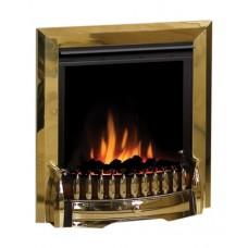 Dimplex Exbury Brass Optiflame® LED Electric Fire