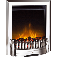 Dimplex Exbury Chrome Optiflame® LED Electric Fire