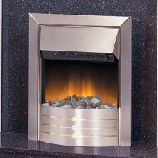 Dimplex Aspen Stainless Steel Optiflame® Electric Fire