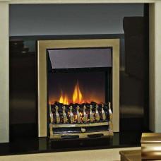 Dimplex Wynford Antique Brass Optiflame® Electric Fire