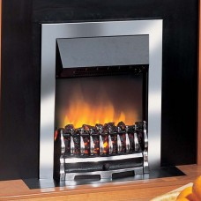 Dimplex Wynford Chrome Optiflame® Electric Fire
