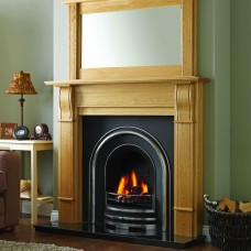 GB Mantels Dorchester Oak Fireplace Suite