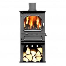 Dunsley Highlander 5 Multi-fuel & Woodburning Log Store Stove