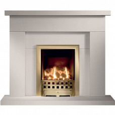 "Gallery Durrington 42"" Jurastone Fireplace Suite"