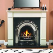 GB Mantels Elgin Oak Fireplace Suite