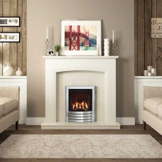 "Be Modern Ellonby 50""  Timber Fireplace Suite"
