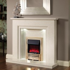 "Elgin & Hall Evita 52"" Micro Marble Surround"