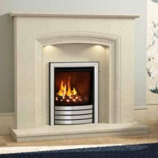 "Elgin & Hall Felicia 50"" Manila Micro Marble Surround"
