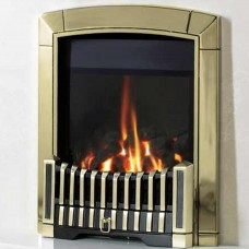 Flavel Caress Contemporary HE Brass Gas Fire