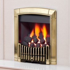 Flavel Caress Contemporary Brass Gas Fire