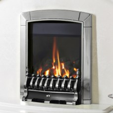 Flavel Caress Traditional HE Silver Gas Fire