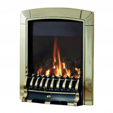 Flavel Caress Plus Traditional Brass Gas Fire