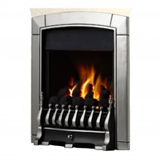 Flavel Caress Plus Traditional Silver Gas Fire