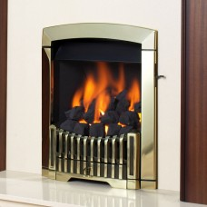 Flavel Rhapsody Antique Brass Gas Fire