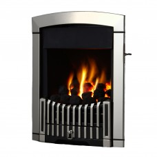Flavel Rhapsody Plus Silver Gas Fire