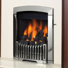 Flavel Rhapsody Silver Gas Fire