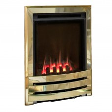 Flavel Windsor Contemporary High Efficiency Brass Gas Fire