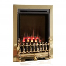 Flavel Windsor Traditional High Efficiency Brass Gas Fire