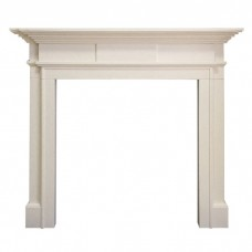 Gallery Milbrooke 56'' Limestone Fire Surround