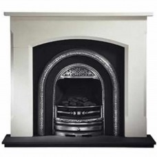 Gallery Woburn Limestone Fireplace Includes Bolton Cast Iron Arch
