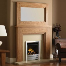 GB Mantels Bexley Oak Fireplace Suite