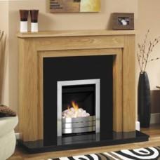 GB Mantels Chelsea Oak Fireplace Suite