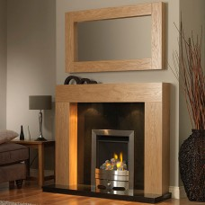GB Mantels Windsor Oak Fireplace Suite