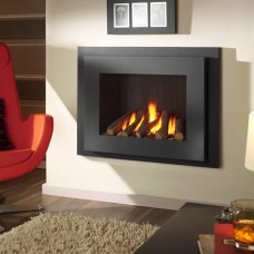 Crystal Fires Manhattan High Efficient Hole in the Wall Gas Fire