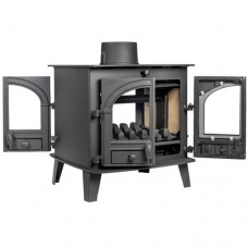 Parkray Consort 7 Double Sided Multifuel Wood Burning Stove