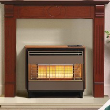 Robinson Willey Firegem Visa Deluxe Radiant Gas Fire