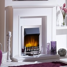 Dimplex Stamford Chrome Optiflame® LED Electric Fire
