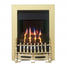 Valor Blenheim Slimline Brass Gas Fire