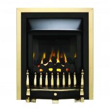 Valor Blenheim Slimline Homeflame Brass Gas Fire